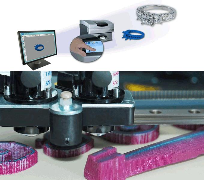 3D Wax Prototyping Printer- Solidscape 3Z Pro